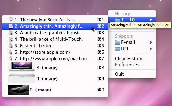 Clipmenu - Ekran görüntüsü